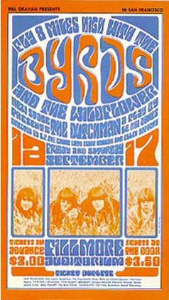 1966. The Byrds @ The Fillmore